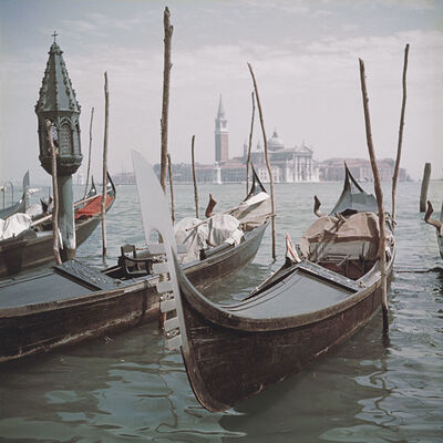 Slim Aarons, 'Venice Gondolas (Slim Aarons Estate Edition)', 1957
