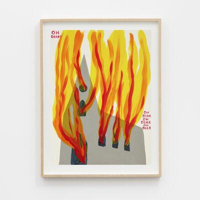 David Shrigley, 'Untitled (Oh Dear)', 2020