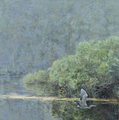 Ron Kingswood, 'Heron in Flight'