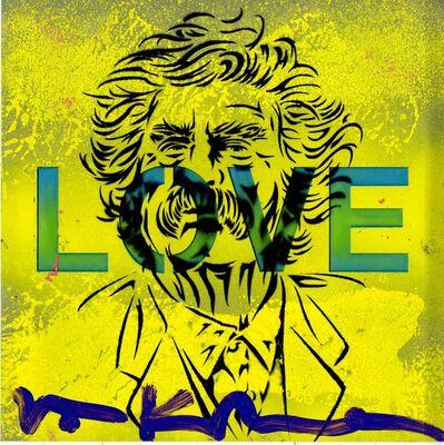 Val Kilmer, 'Mark Twain/ LOVE', 2018