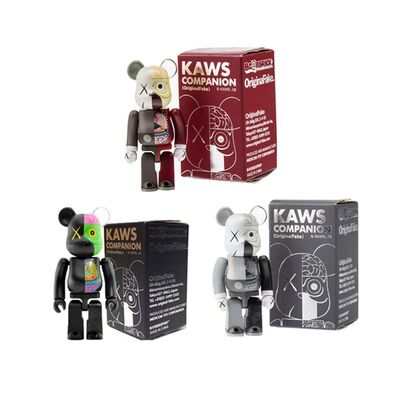 KAWS, '100% Dissected Be@rbrick Companion Set', 2010