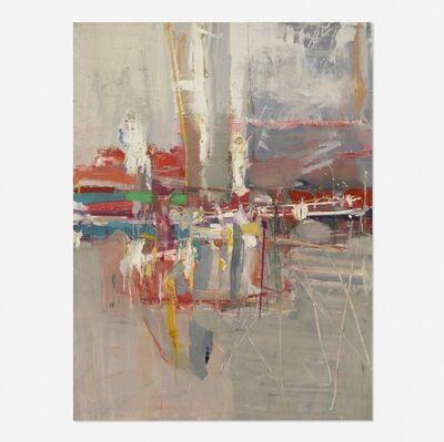 Robert S. Neuman, 'Grey Wall Abstraction', 1959