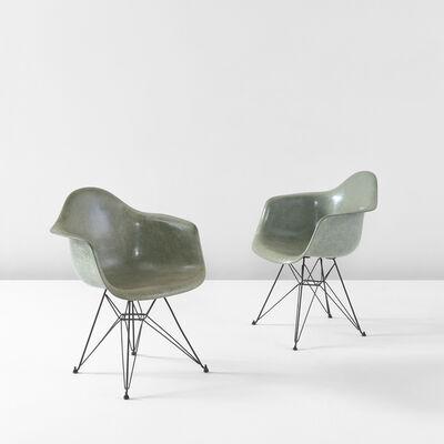"Charles Eames, 'Pair of ""DAR"" armchairs', circa 1953"