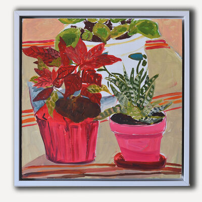 Anna Valdez, 'Three Houseplants', 2015