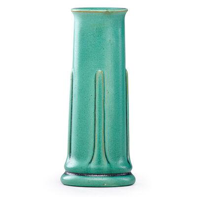 Teco, 'Small vase, Terra Cotta, IL', ca. 1910