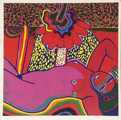 Corneille, 'Femme à la fleur ', 1991