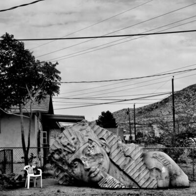 Matt Black, 'Backyard. Doña Ana County, NM.', 2015