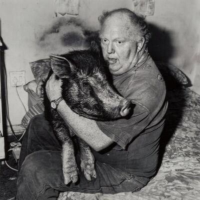Roger Ballen, 'Brian with Pet Pig', 1998