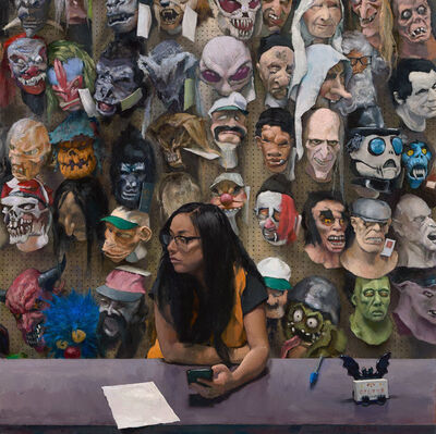 John Brosio, 'Costume Shop', 2018