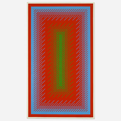 Richard Anuszkiewicz, 'Reflections IV', 1979