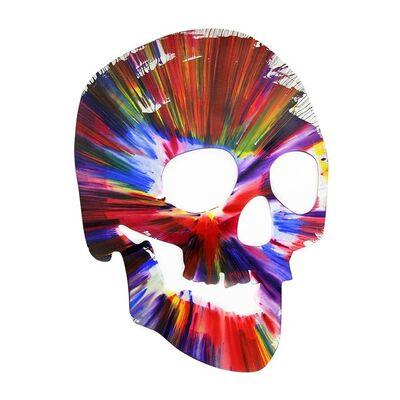 Damien Hirst, 'Spin Painting Skull', 2009