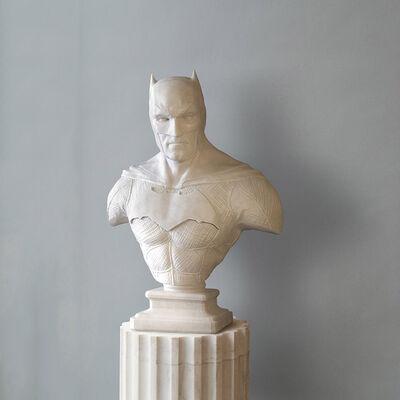 Léo Caillard, 'Heroes in Stone (Batman)', 2018