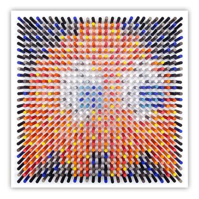Matthew Bilfield, 'Glitchy Ghost Orange', 2020