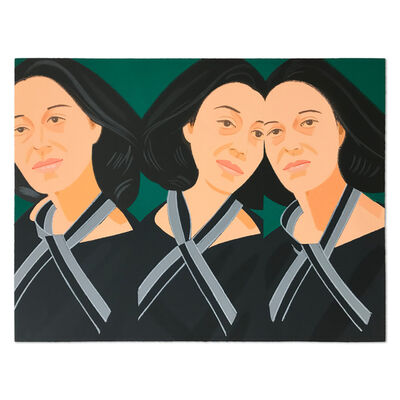 Alex Katz, 'Grey Ribbon (Ada Three Times)', 1990
