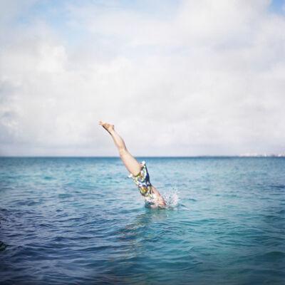 Cig Harvey, 'Deep Bay, Self Portrait, North Shore, Bermuda', 2005