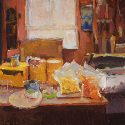 Connie Hayes, 'Kitchen at the Harbor'