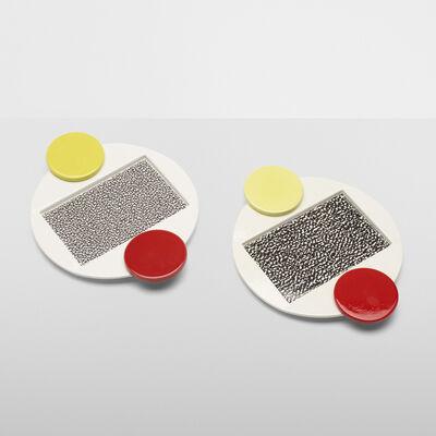 Michele de Lucchi, 'Tomato platters, pair', 1985