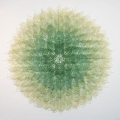 Miya Ando, 'Mandal ( Green)', 2020