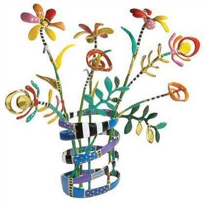 Dorit Levinstein, '7 Flower Vase', 2015