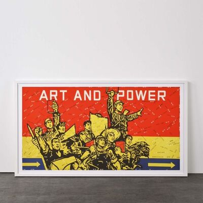 Wang Guangyi 王广义, ' Art and Power (from Rhythmical Dichotomy Portfolio)', 2007-2008