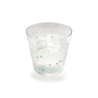 Tatsuo Miyajima 宮島 達男, 'Thermosensitive Glass (300ml), 2020', 2020