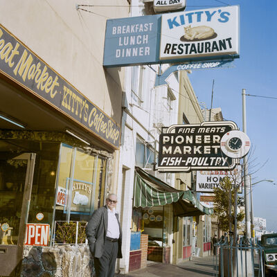 Janet Delaney, 'Kitty's Coffee Shop, Mission St, 1984', 2018