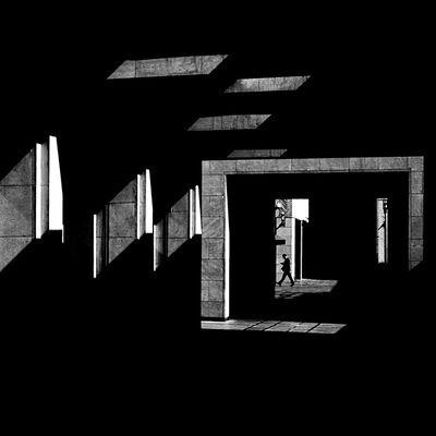 Serge Najjar, ''Zebra Path'', 2012
