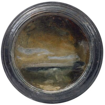 Richard Hambleton, 'Landscape (Small with Frame Circle)', 1997