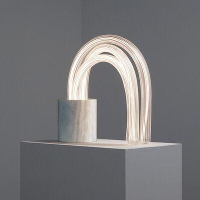 Mathieu Lehanneur, 'SPRING LAMP (ZEBRINO 44 CM)', 2016