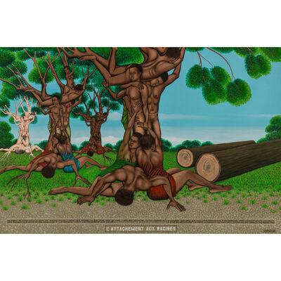 Chéri Samba, 'L'attachement aux racines', 2010