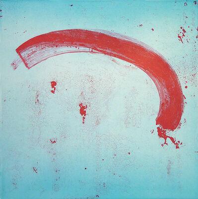 Pat Steir, 'Mixed Marks, Arc', 2004