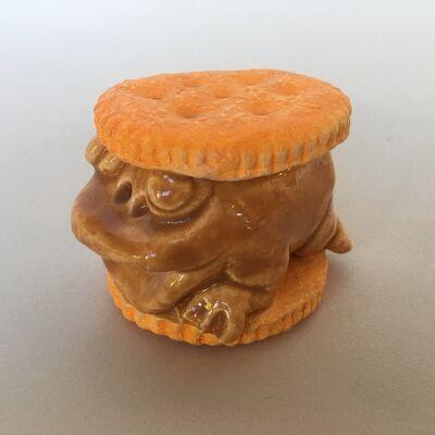 David Gilhooly, 'Ritz Cracker Frog Sandwich', ca. 2000