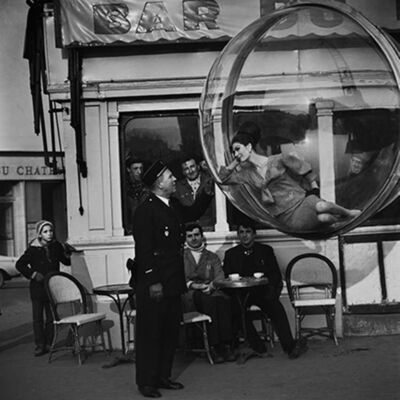 Melvin Sokolsky, 'Bar Du Flick, Paris', 1963