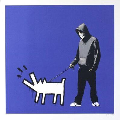 Banksy, 'Choose Your Weapon (Dark Blue AP)', 2010