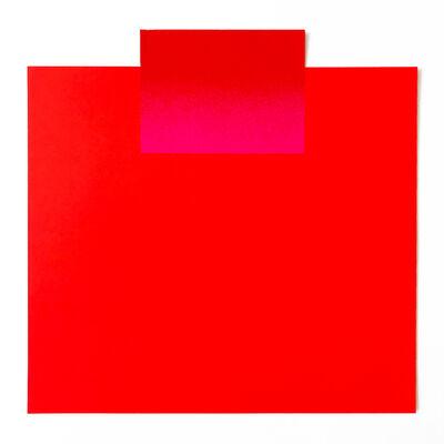 Rupprecht Geiger, 'All die roten Farben 9', 1981