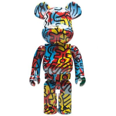 Keith Haring, '1000% Bearbrick', 2018