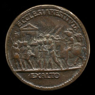 Cristoforo di Geremia, 'Triumphal Procession [reverse]'