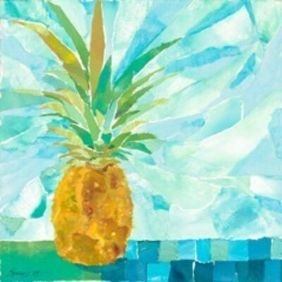 Mary Spears, 'Blue Pineapple Squares', 2019