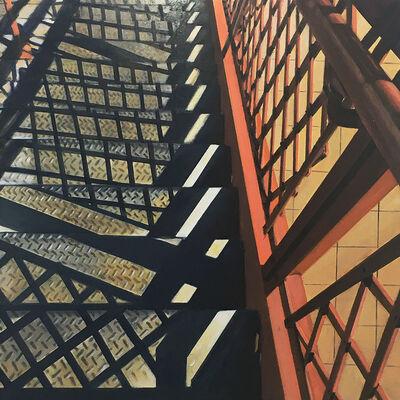 Allan Gorman, 'Stairs at Broad Street Station', 2020