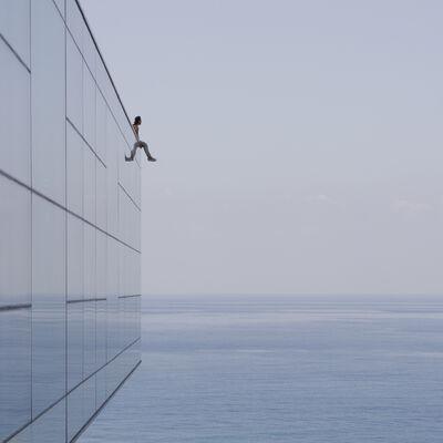 Serge Najjar, 'Man and Sea', 2017