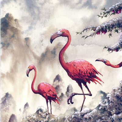 Arik Roper, 'Flamingos', 2013