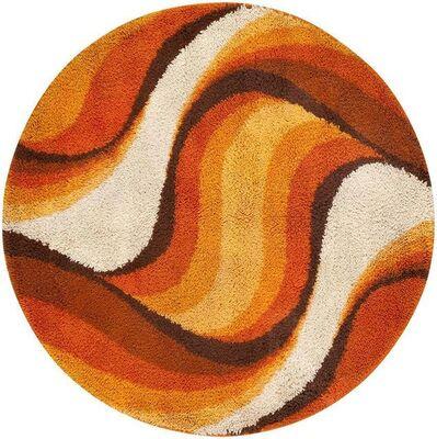Verner Panton, 'Vintage Swedish Deco Round Rug ', ca. 1950