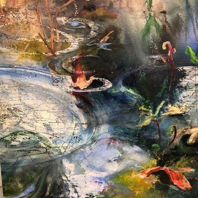 Ilana Manolson, 'Navigating the ripples', 2020
