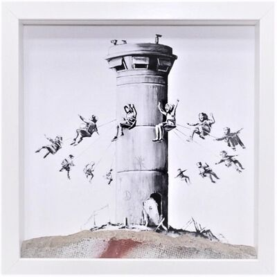 Banksy, 'Walled off ', 2018
