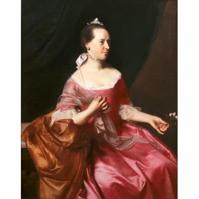 John Singleton Copley, 'Portrait of Mrs. Joseph Scott', ca. 1765