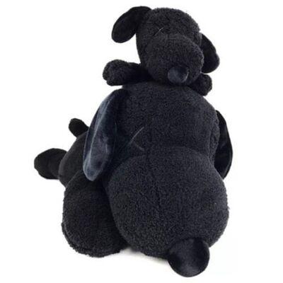 KAWS, 'KAWS x Peanuts Black Snoopy Uniqlo Plush Toy (Black) (Set of 2)', 2017