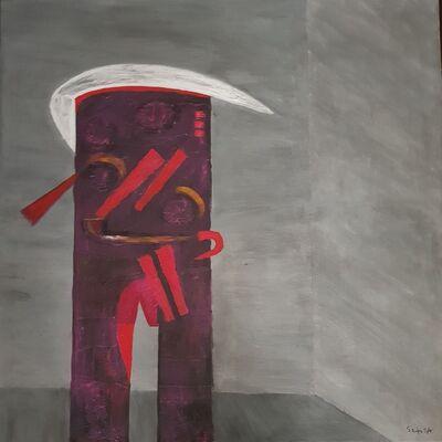 Fernando de Szyszlo, 'Visitante from Series Orrantia', 1987