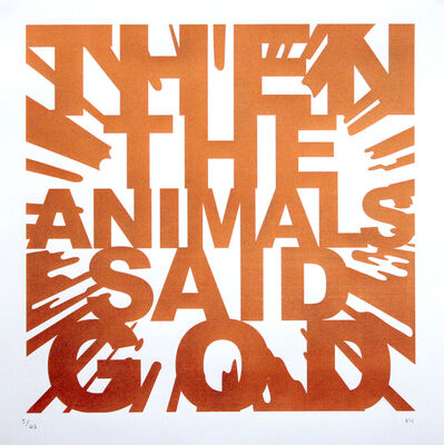 Kenny Hunter, 'Then The Animals Said God', 2011