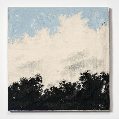 Sara Brennan, 'Broken White band with Pale Blue II ', 2011