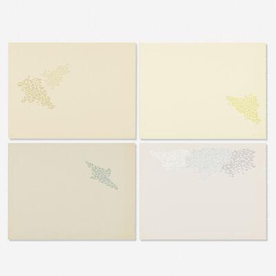 Robert Goodnough, 'Untitled, portfolio of four prints', 1973